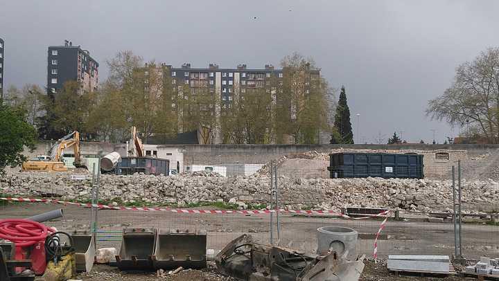 Les derniers murs de l'ancienne prison d'Orléans sont tombés 1