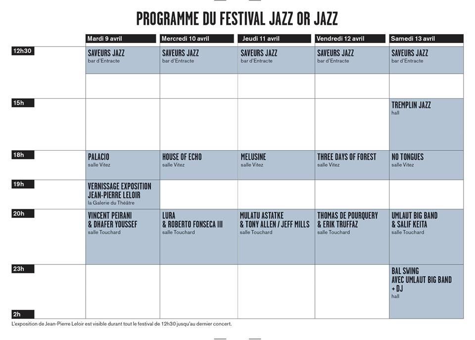 Le festival Jazz or jazz est lancé ! 5