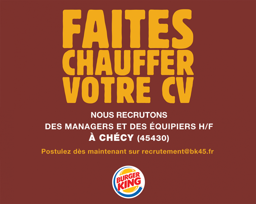 Quand Burger King chambre le Mc Do de Chécy ! 3
