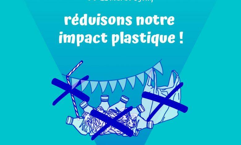 """Du 22 mai au 5 juin devenez acteur pour la planète avec le """"No Plastic Challenge 2019"""" ! 1"""