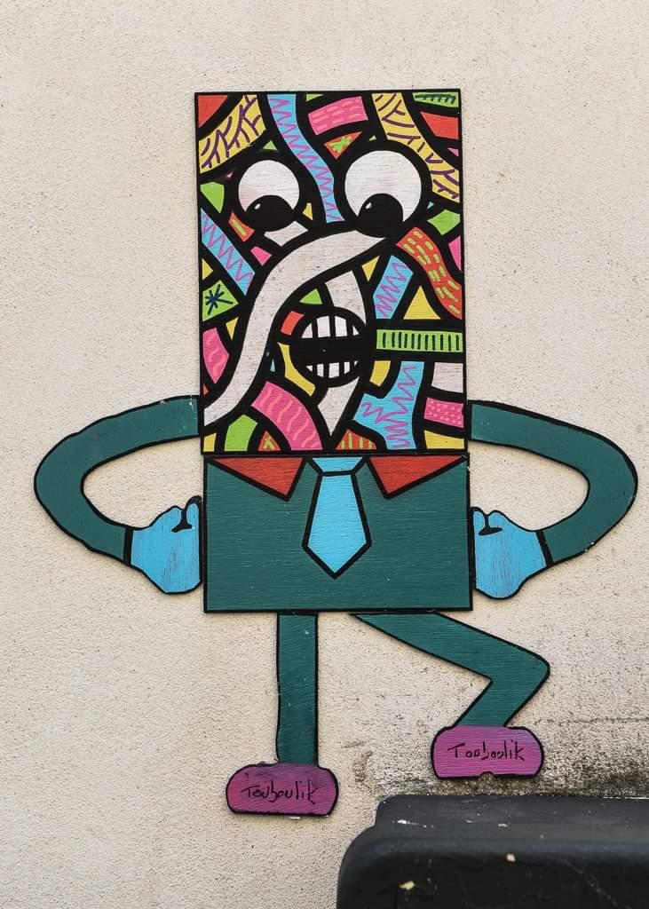 Touboulik, un nouveau personnage dans les rues de la ville ! 1