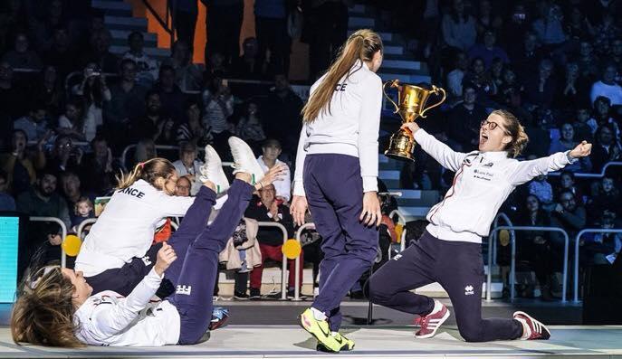 Coupe du Monde de Sabre Dames : rendez-vous du 22 au 24 novembre ! 8