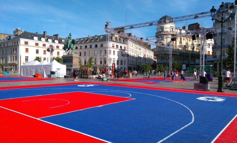 Du basket, Place du Martroi ! 1