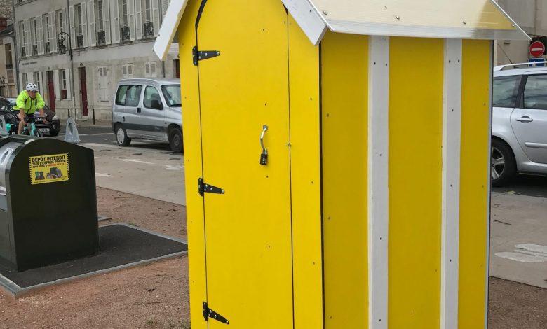 Des toilettes sèches sur les quais d'Orléans 1