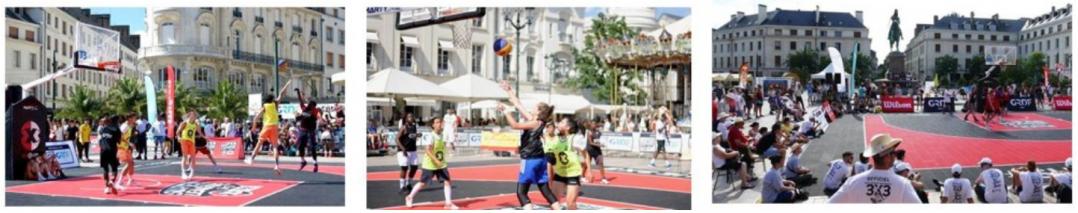 Du basket, Place du Martroi ! 15