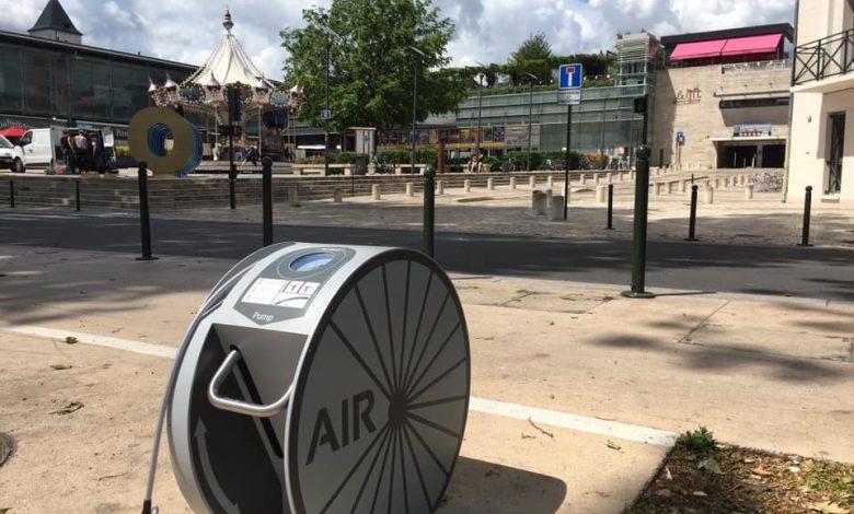 Nouveauté sur les quais, on peut gonfler gratuitement son vélo 1