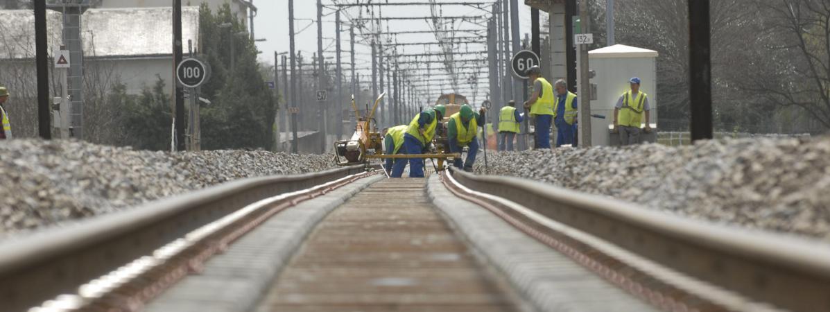 Travaux sur la ligne Orléans-Paris 8