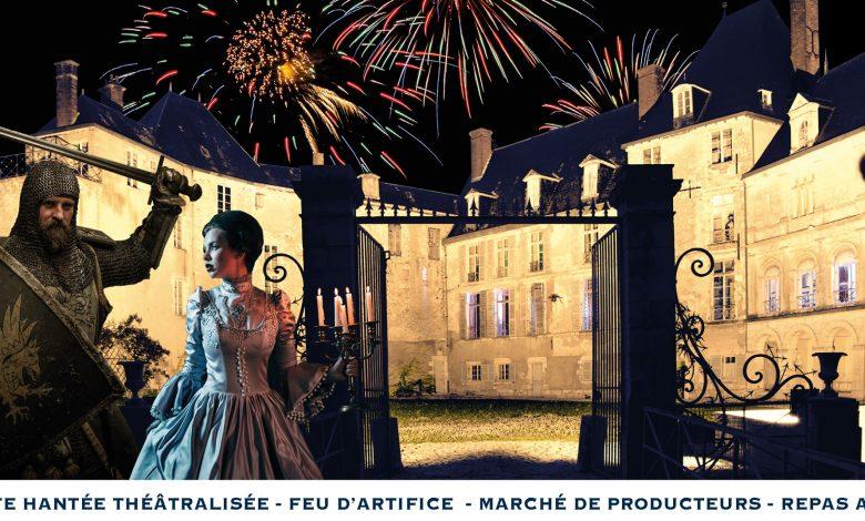 Nocturne au Château de Saint-Brisson-sur-Loire ! 1