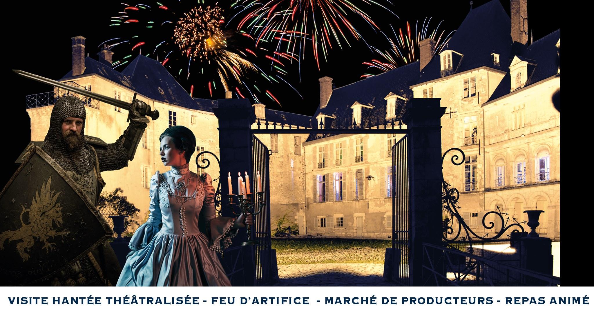 Nocturne au Château de Saint-Brisson-sur-Loire ! 4
