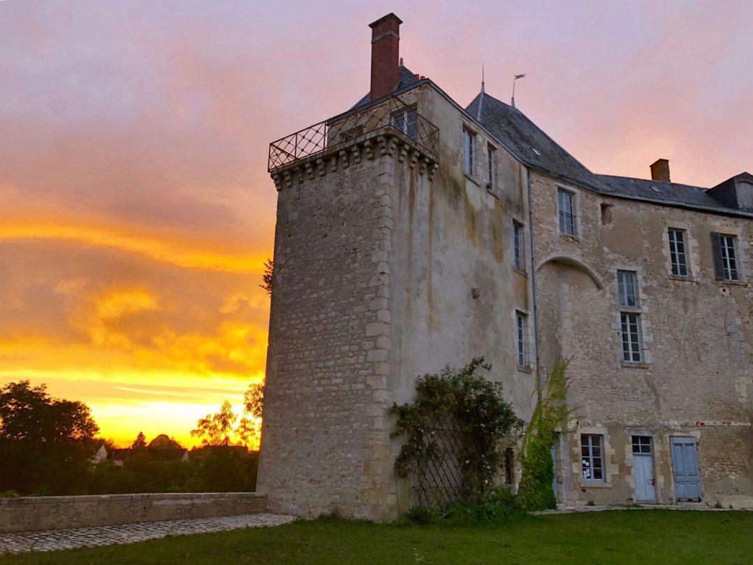 Nocturne au Château de Saint-Brisson-sur-Loire ! 2