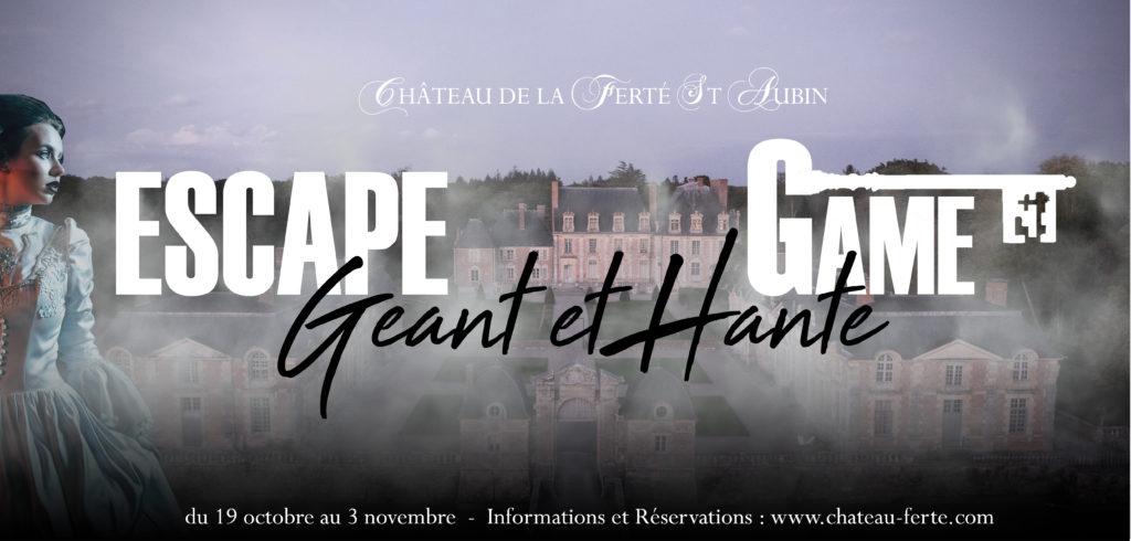 Escape Game géant et hanté à La Ferté-Saint-Aubin ! 1