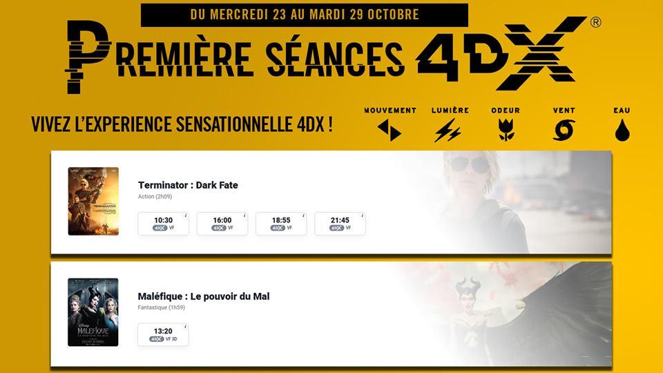 La 4DX arrive Mercredi à Orléans 1