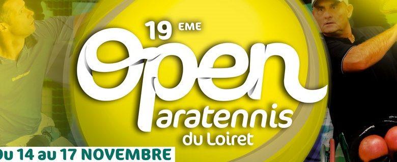 L'Open international de paratennis, ça commence aujourd'hui ! 1