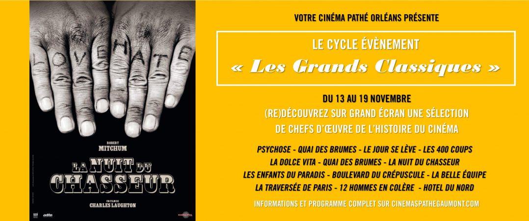 Les Grands Classiques du cinéma s'invitent au Pathé Orléans 2