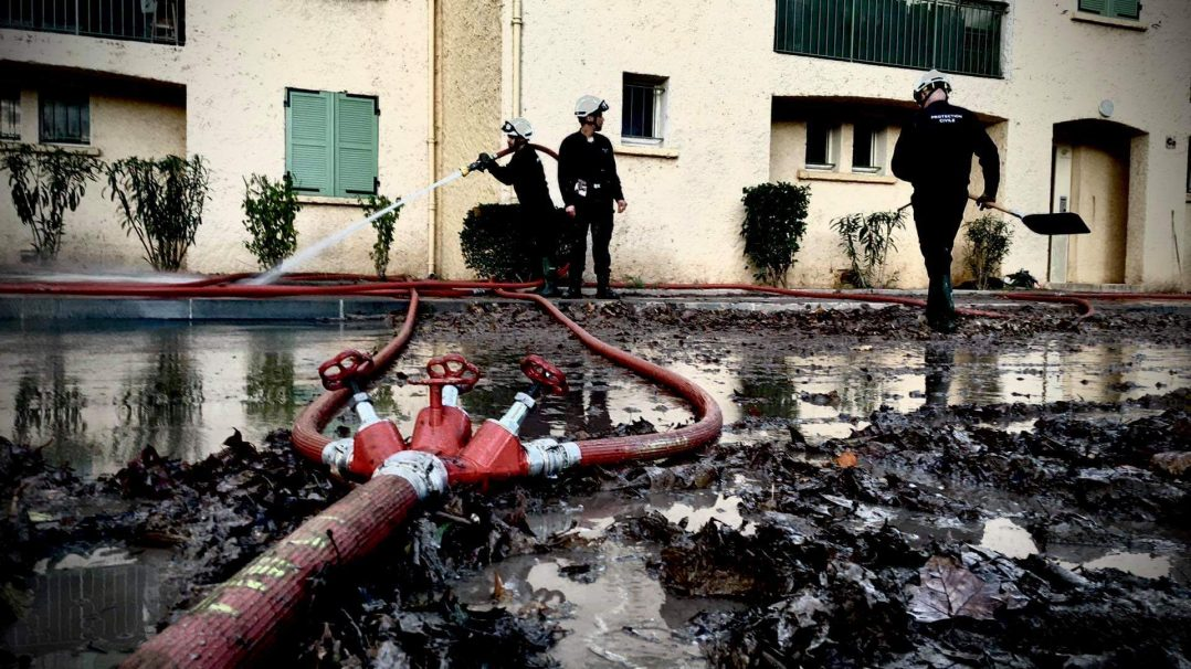 La protection civile du Loiret en soutien aux sinistrés du Var 2