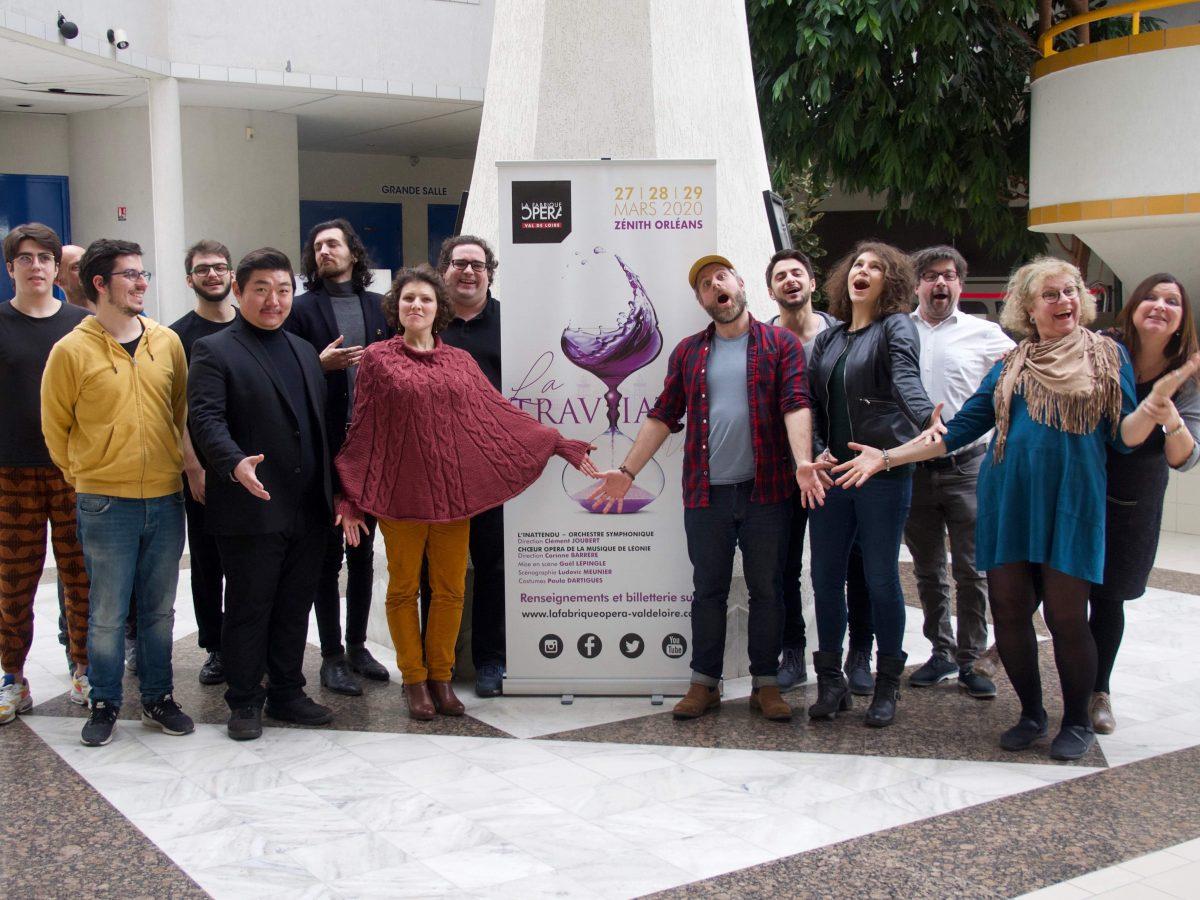 La Fabrique Opéra dévoile les solistes de sa Traviata 2
