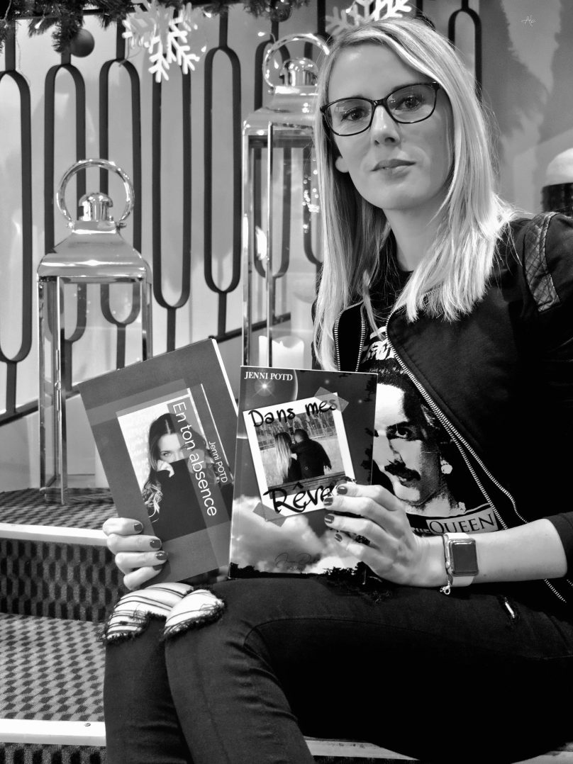 Rencontre avec Jenni Potd, une auteure locale 3