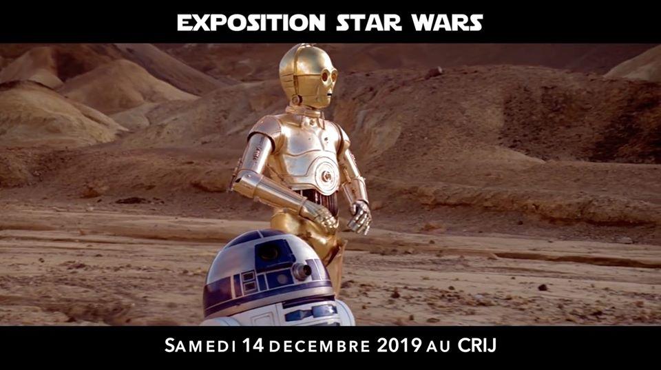 Exposition gratuite dédiée à Star Wars au CRIJ 4