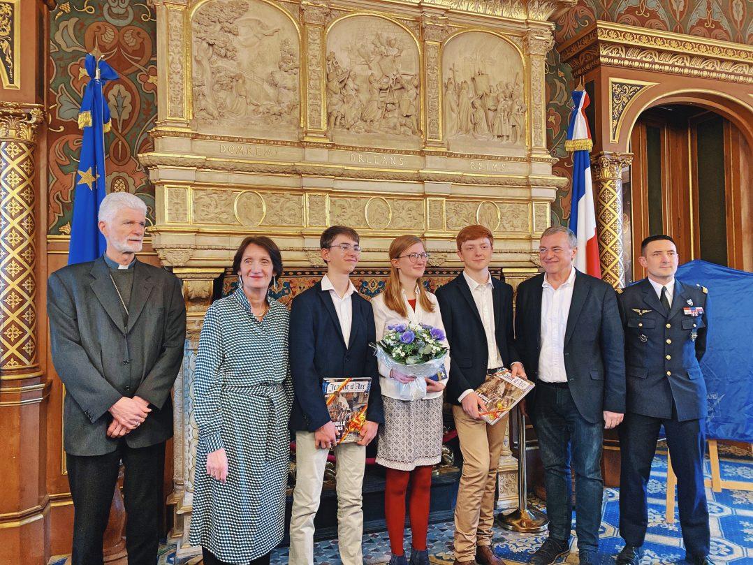 Raphaëlle Camphuis est la nouvelle Jeanne d'Arc 2020 2
