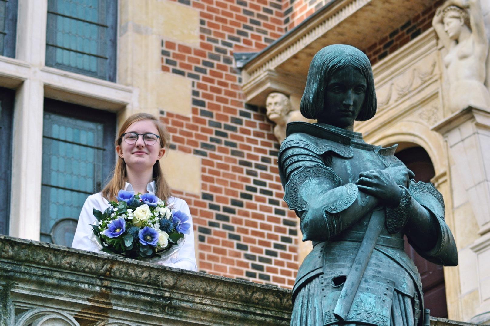 Raphaëlle Camphuis est la nouvelle Jeanne d'Arc 2020 1