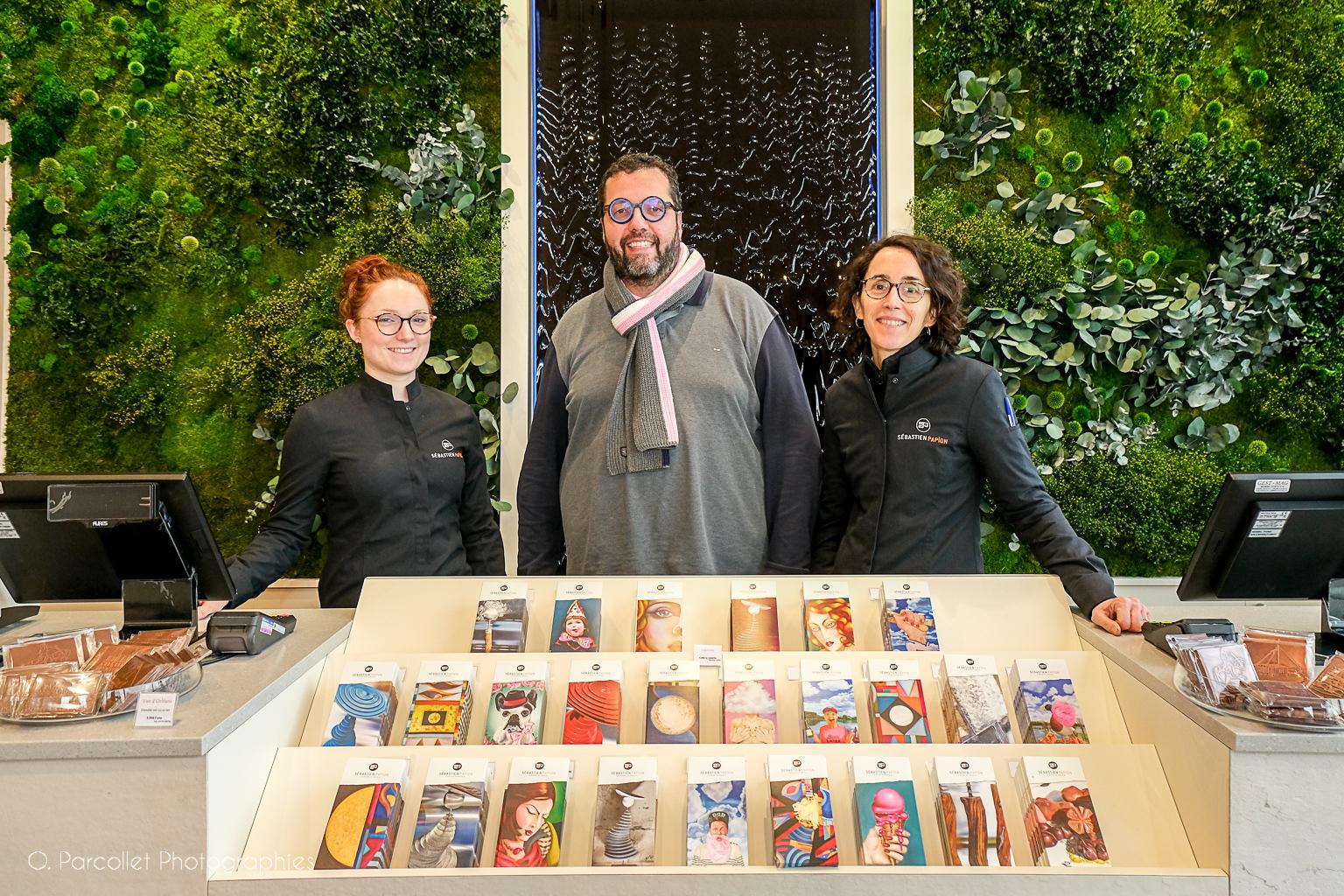 Ouverture de la nouvelle boutique de Sébastien Papion 1