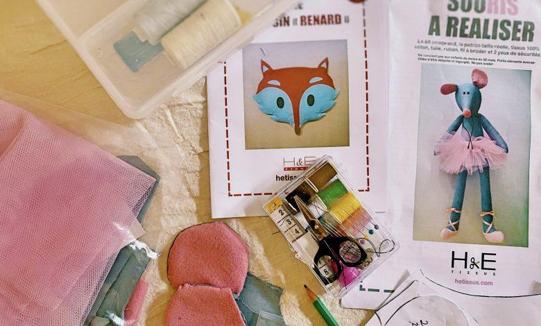 Un jour, une activité : atelier couture 1