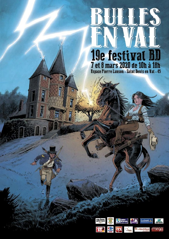 Photo of 19e festival « Bulles en Val » : Laurent Astier invité d'honneur