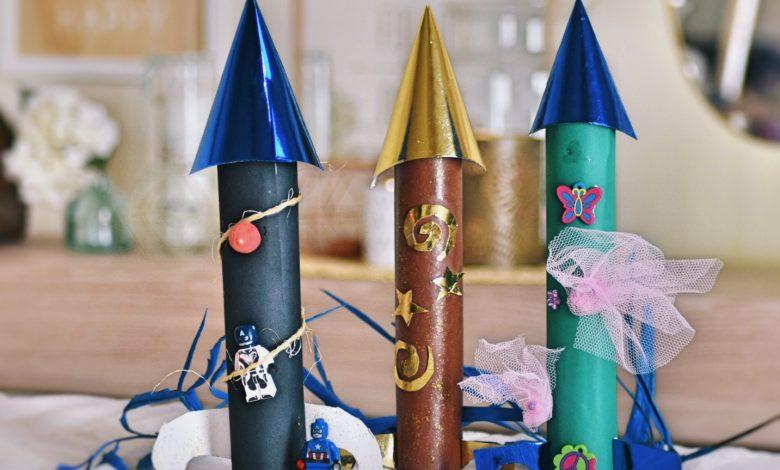 Un jour, une activité : Création fusées spatiales 1