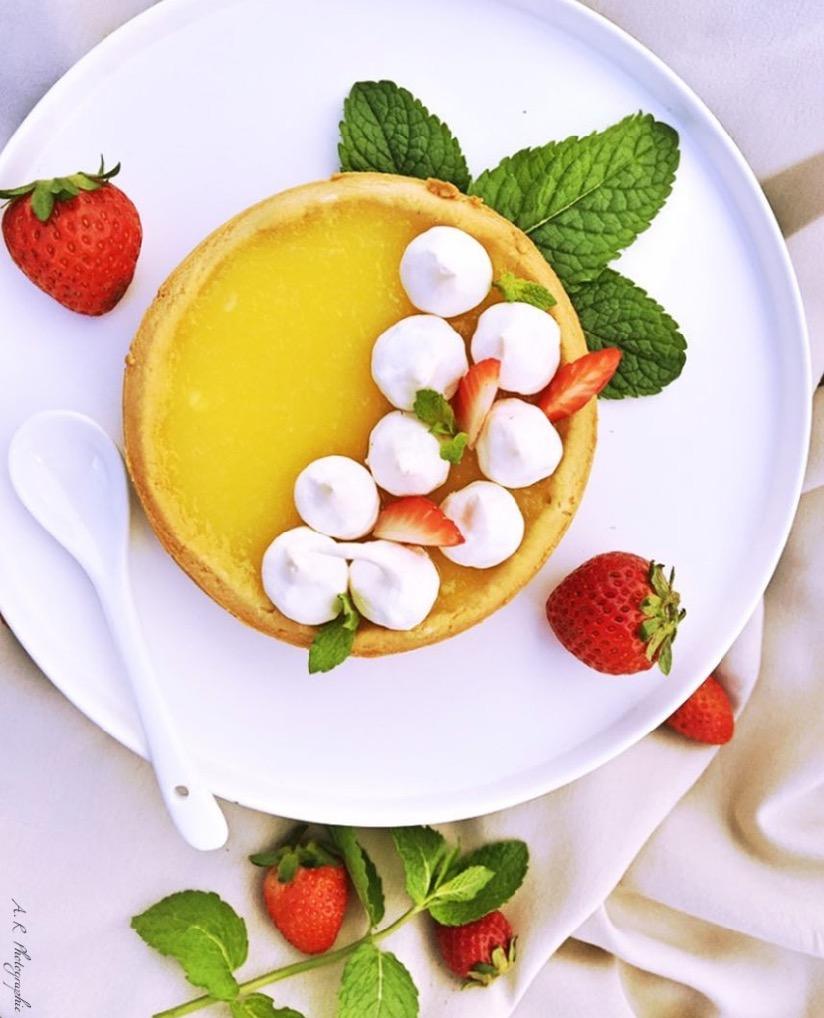 Goûter : recette de la tarte au citron meringuée 2