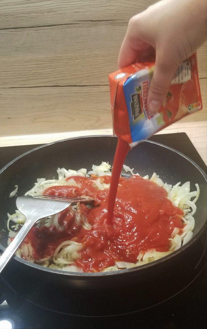 Un crumble salé : le crumble tomates-oignons 7