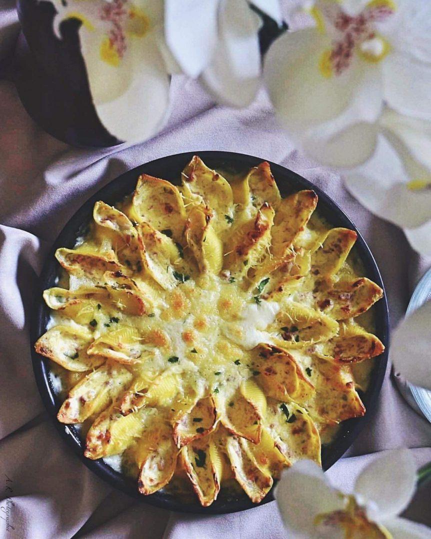 Apéro Time : gratin de pâtes floral 2