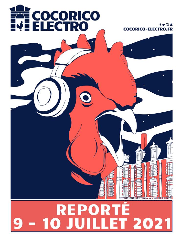 Le Cocorico Electro reporté en 2021 ! 2