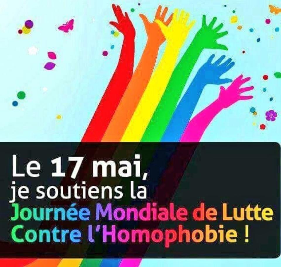 Journée mondiale contre l'Homophobie et la transphobie 2