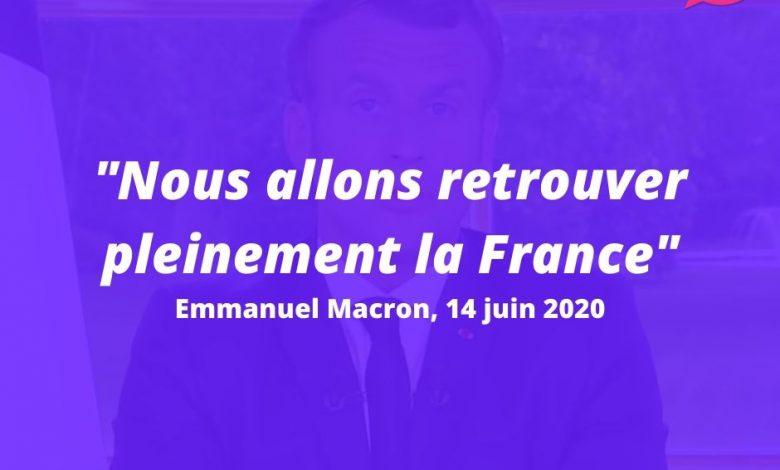 Emmanuel Macron s'est exprimé, ce soir, à la télévision. Voilà ce qu'il faut en retenir 1