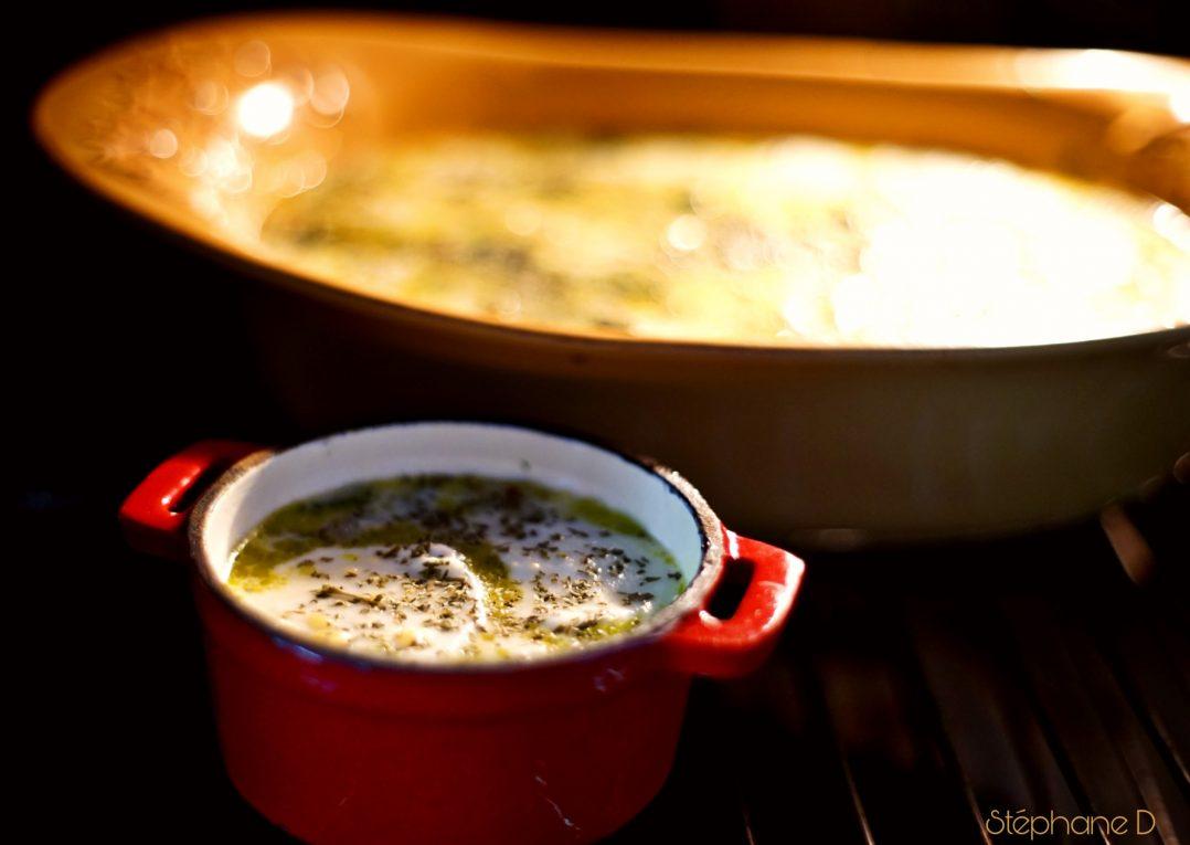 Clafoutis de courgettes mozzarella 7