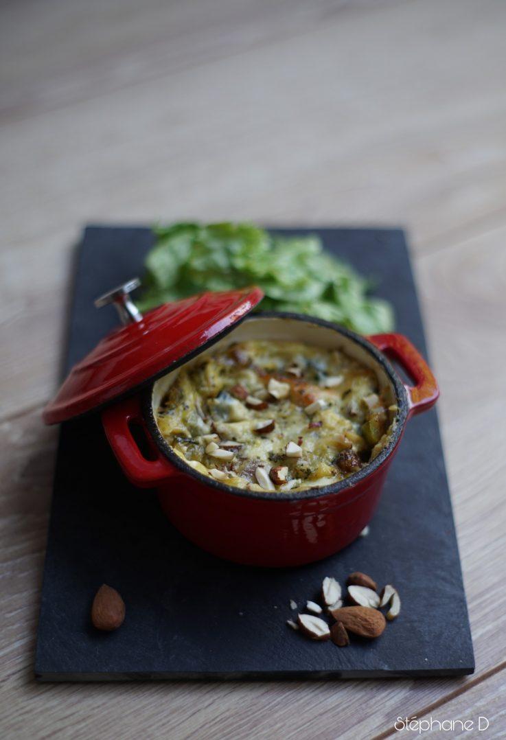 Clafoutis de courgettes mozzarella 9