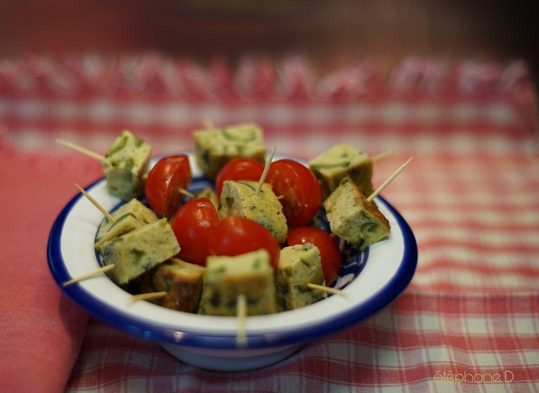 Notre recette du jour : le flan de courgettes 8