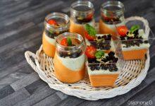 Photo of Une recette colorée et fraiche pour l'été, «Panna cotta tomates basilic»