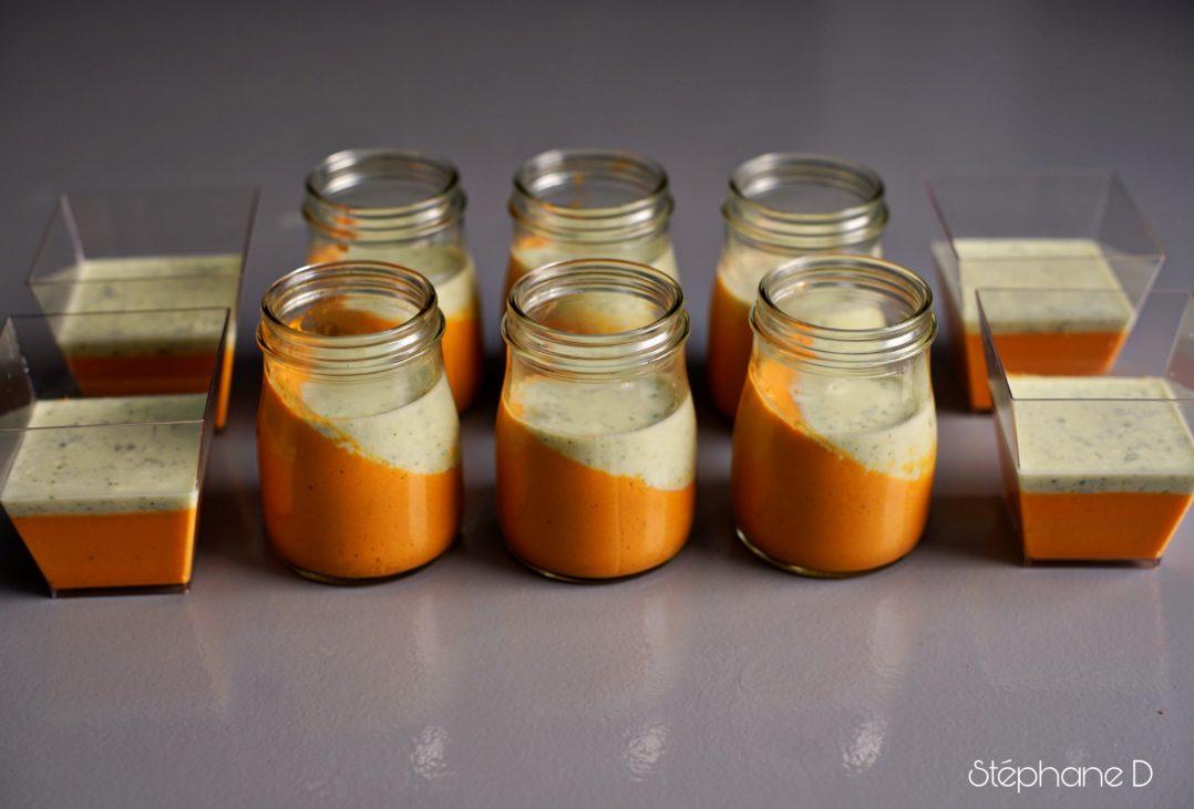 """Une recette colorée et fraiche pour l'été, """"Panna cotta tomates basilic"""" 3"""