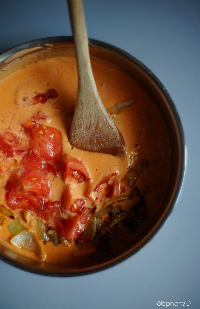 """Une recette colorée et fraiche pour l'été, """"Panna cotta tomates basilic"""" 2"""