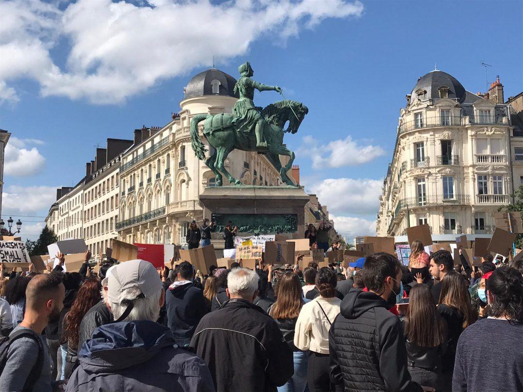 Black Lives Matter : retour en images sur le rassemblement orléanais 19