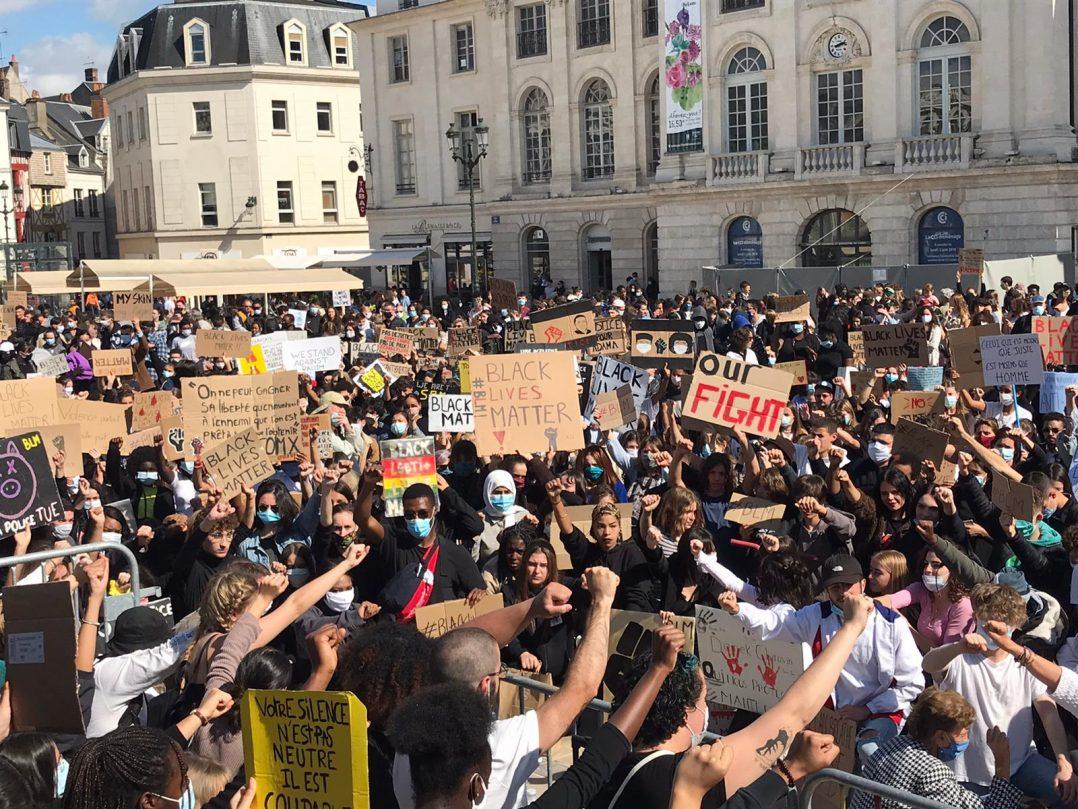 Black Lives Matter : retour en images sur le rassemblement orléanais 20