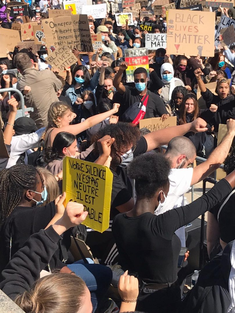 Black Lives Matter : retour en images sur le rassemblement orléanais 21