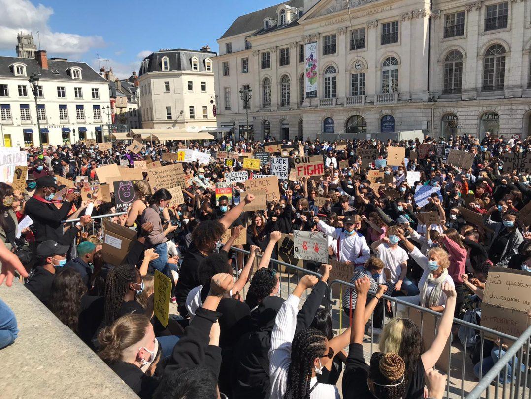 Black Lives Matter : retour en images sur le rassemblement orléanais 24