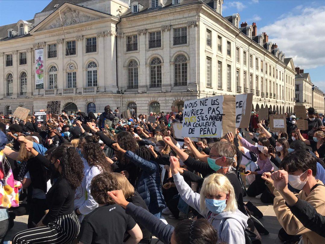 Black Lives Matter : retour en images sur le rassemblement orléanais 26