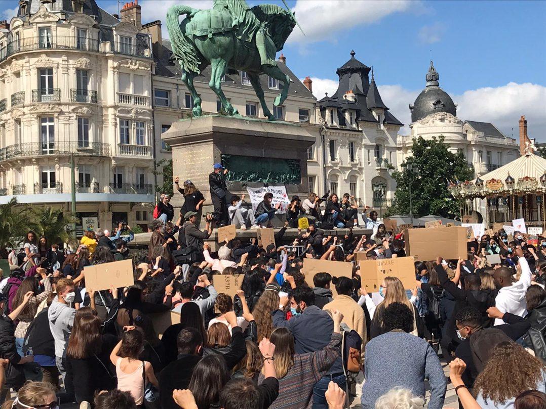 Black Lives Matter : retour en images sur le rassemblement orléanais 28