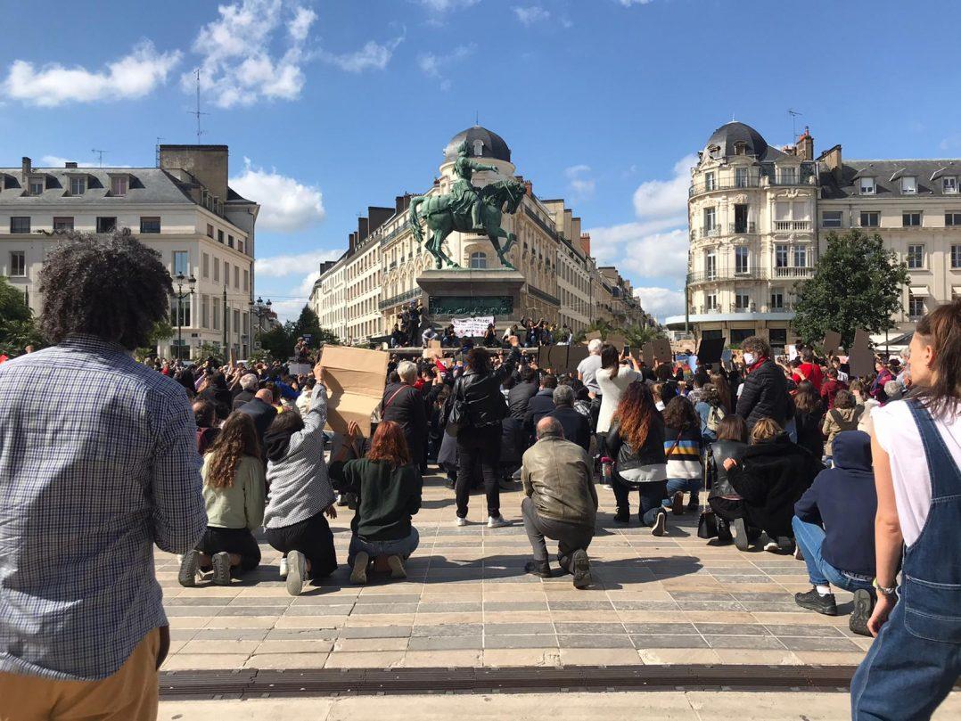 Black Lives Matter : retour en images sur le rassemblement orléanais 29
