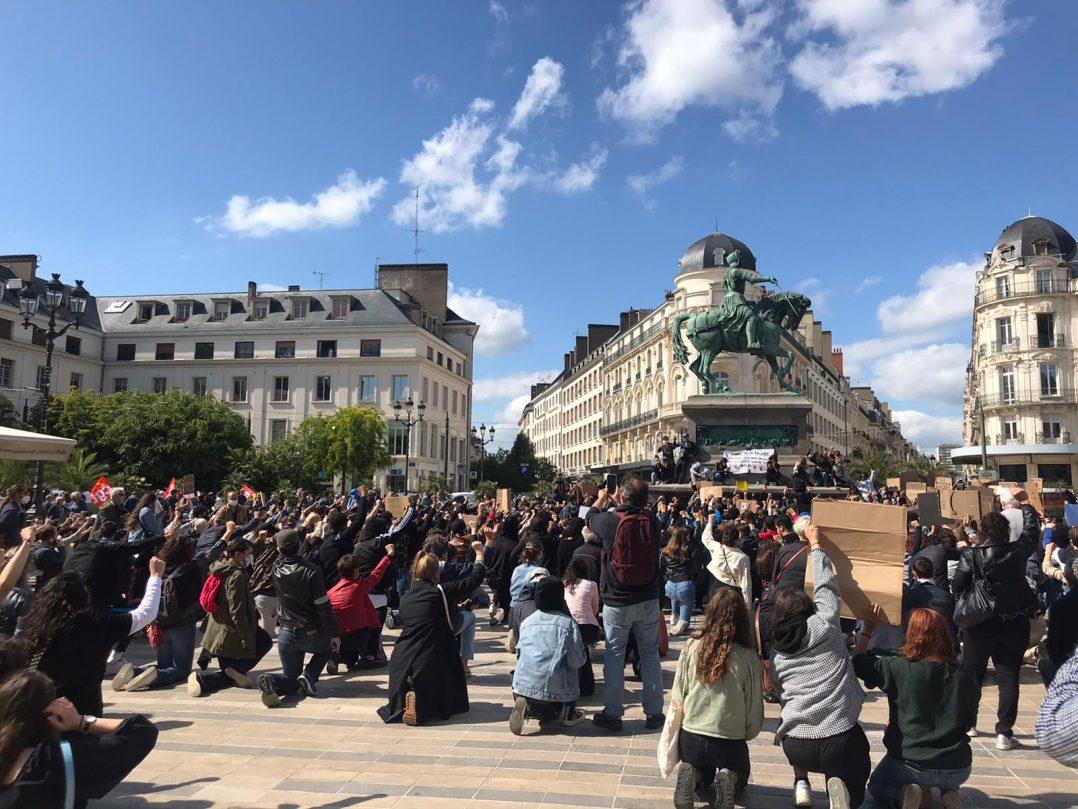 Black Lives Matter : retour en images sur le rassemblement orléanais 30