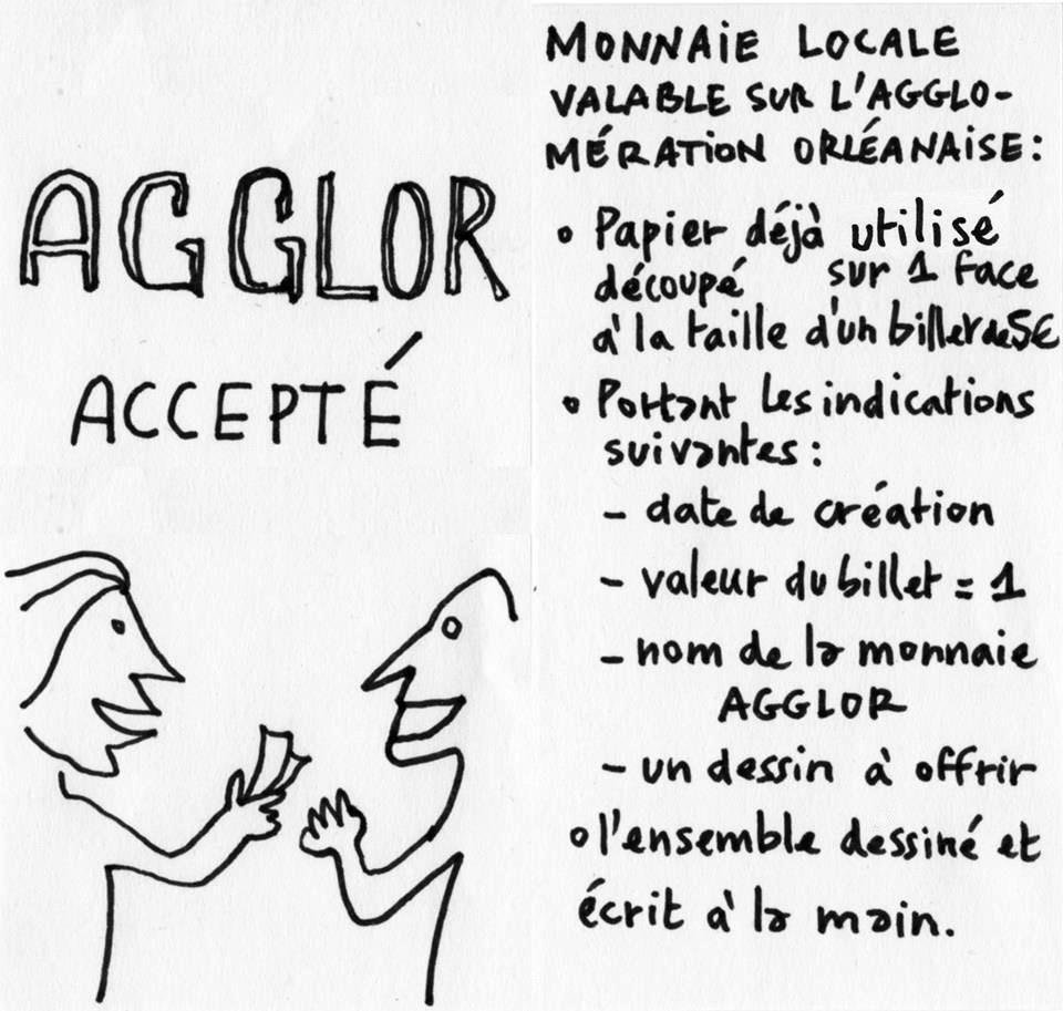 L'Agglor, monnaie d'échange Orléanaise complémentaire 2