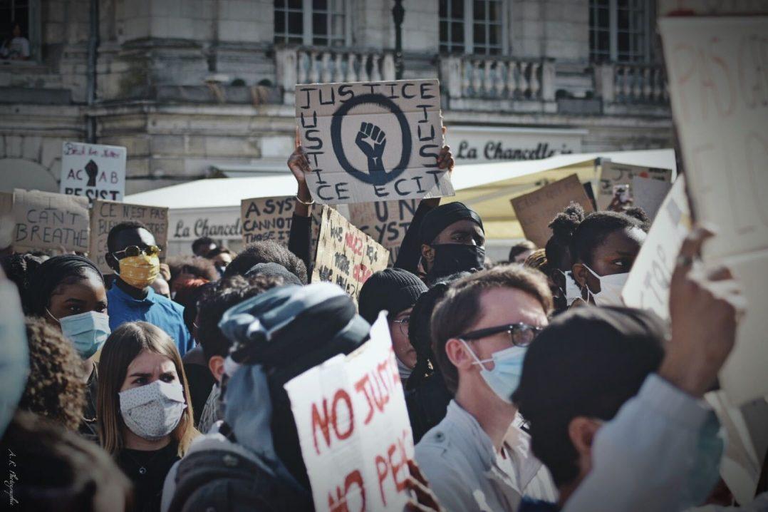 Black Lives Matter : retour en images sur le rassemblement orléanais 12